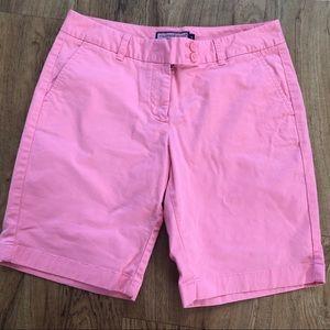 Vineyard Vines Pink Bermuda Long Shorts Size 8